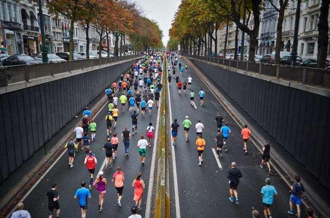 Spring sports: The Eiffel Tower Vertical and the Paris Marathon