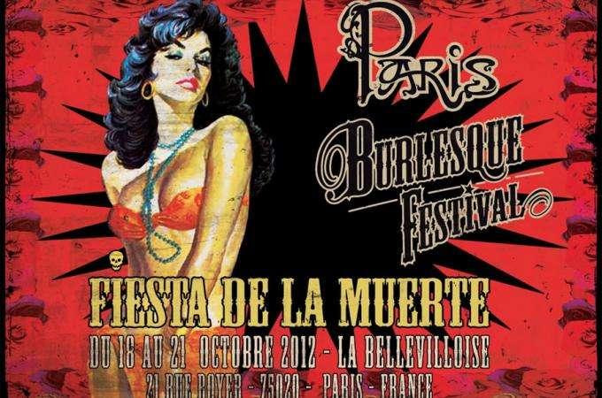 Paris Burlesque Festival - Fiesta de la Muerte