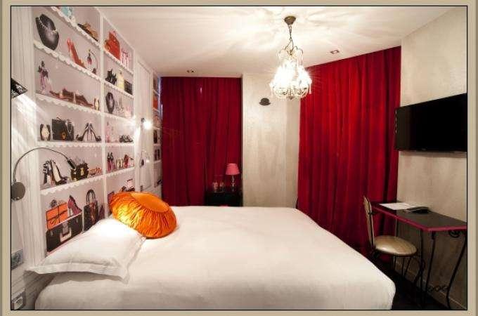 Chambres Deluxe hotels Paris selon les 7 péchés capitaux