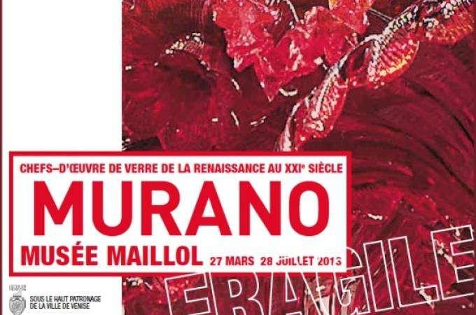 Exposition Murano Paris : la verrerie à l'honneur