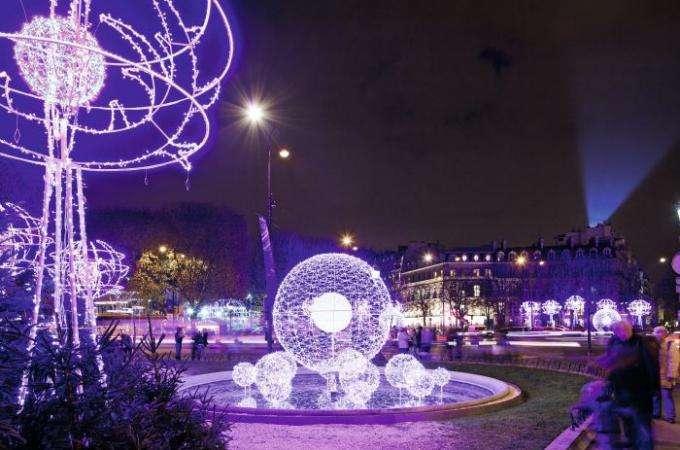 Noel à Paris 2013 : les lumières de la ville