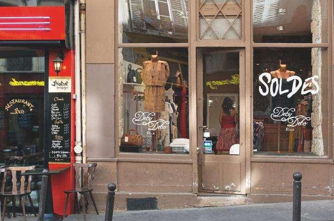 Soldes d'hiver à Paris