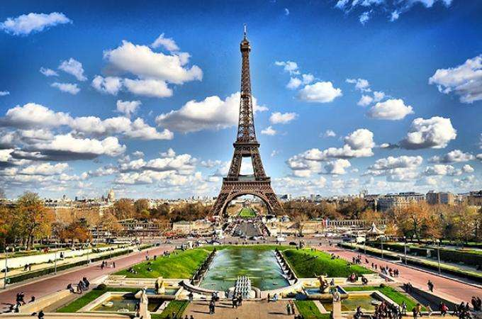 The Eiffel Tower, symbol of Paris and France