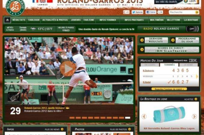 Roland Garros : legendary home of the French Open