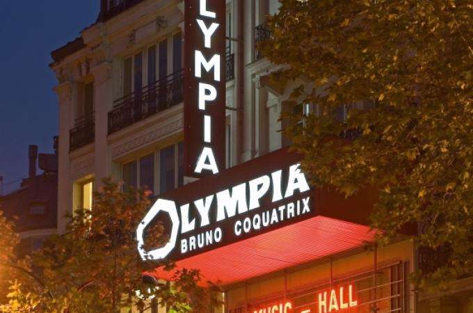 Olympia Paris , one of the World's Greatest Concert Venues