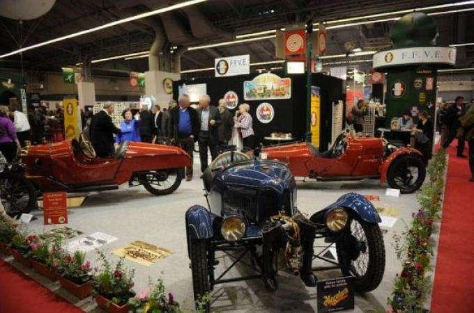 Retromobile Paris 2014 For Vintage Car Visions