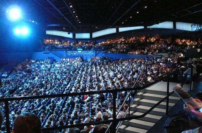Paris Palais des Sports venue for Parisian entertainment