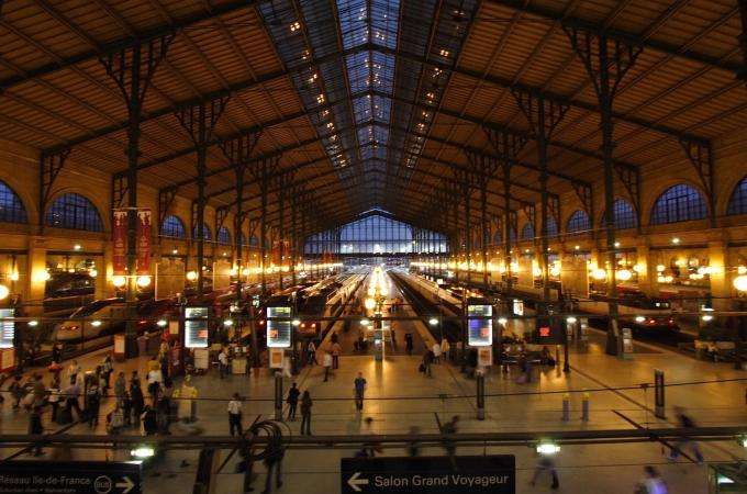 Gare du Nord becomes a nightclub