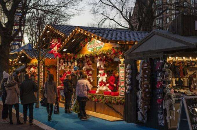 Christmas Markets -Explore a world of little wooden chalets