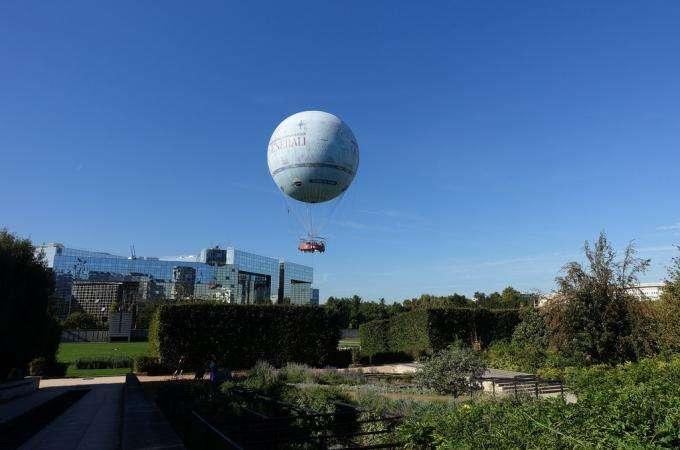 Balade à deux au Parc André Citroën et en ballon de Paris