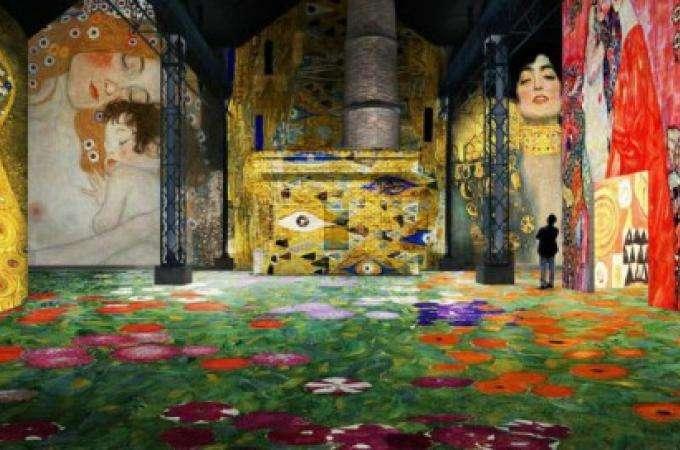 Visit the new Atelier des Lumières in Paris
