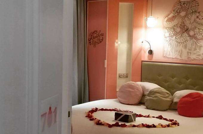 La Saint-Valentin au Vice Versa Hôtel