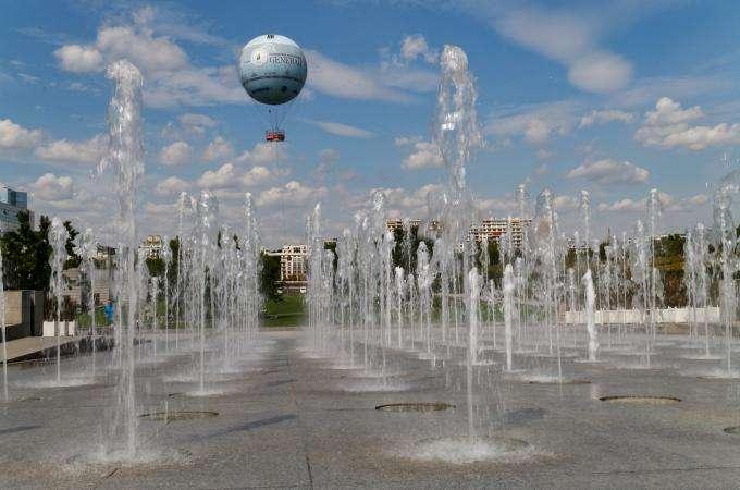Paris en Montgolfière au Parc André Citroën