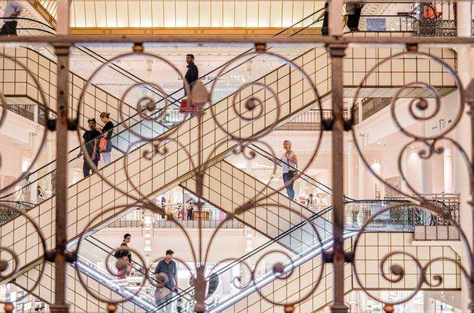 The private salons of Bon Marché offer a new shopping experience