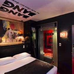 Vice Versa Hôtel Paris - chambre - colere