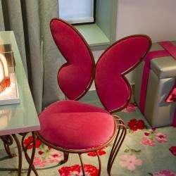Vice Versa Hôtel Paris - chambre - paresse - chaise papillon