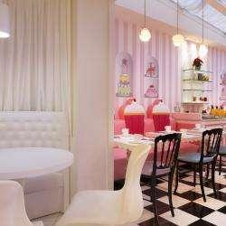 Vice Versa Hôtel Paris  - lobby et salle petit dejeuner